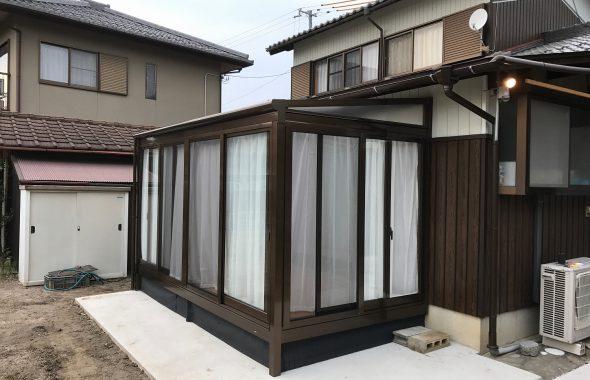 彦根市旬スタイルサンルーム追加リフォーム