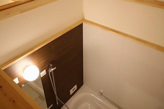 彦根市旬スタイル天井ないお風呂